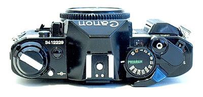 Canon AE-1 Program, Top