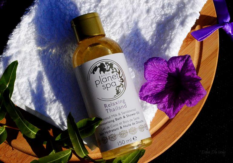 Relaksująco-nawilżający olejek do kąpieli i pod prysznic Planet Spa Relaxing Thailand recenzja