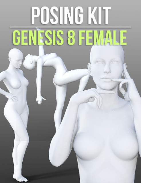 Posing Kit for Genesis 8 Female