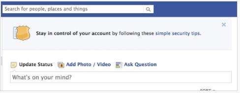 Facebook Login Asking for Mobile Phone Number