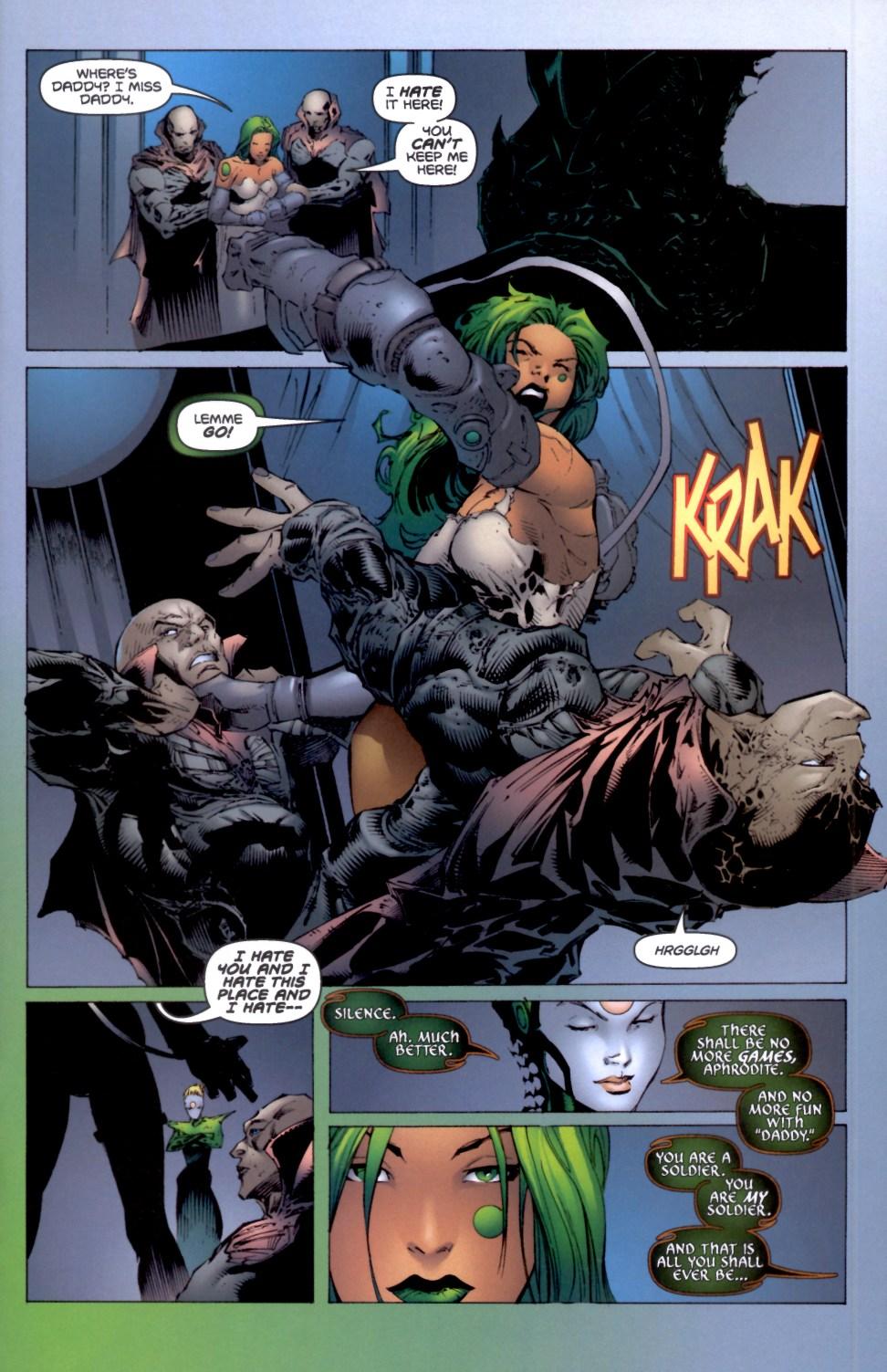 Read online Aphrodite IX (2000) comic -  Issue #4 - 16
