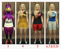 Athletic Career Sims 4