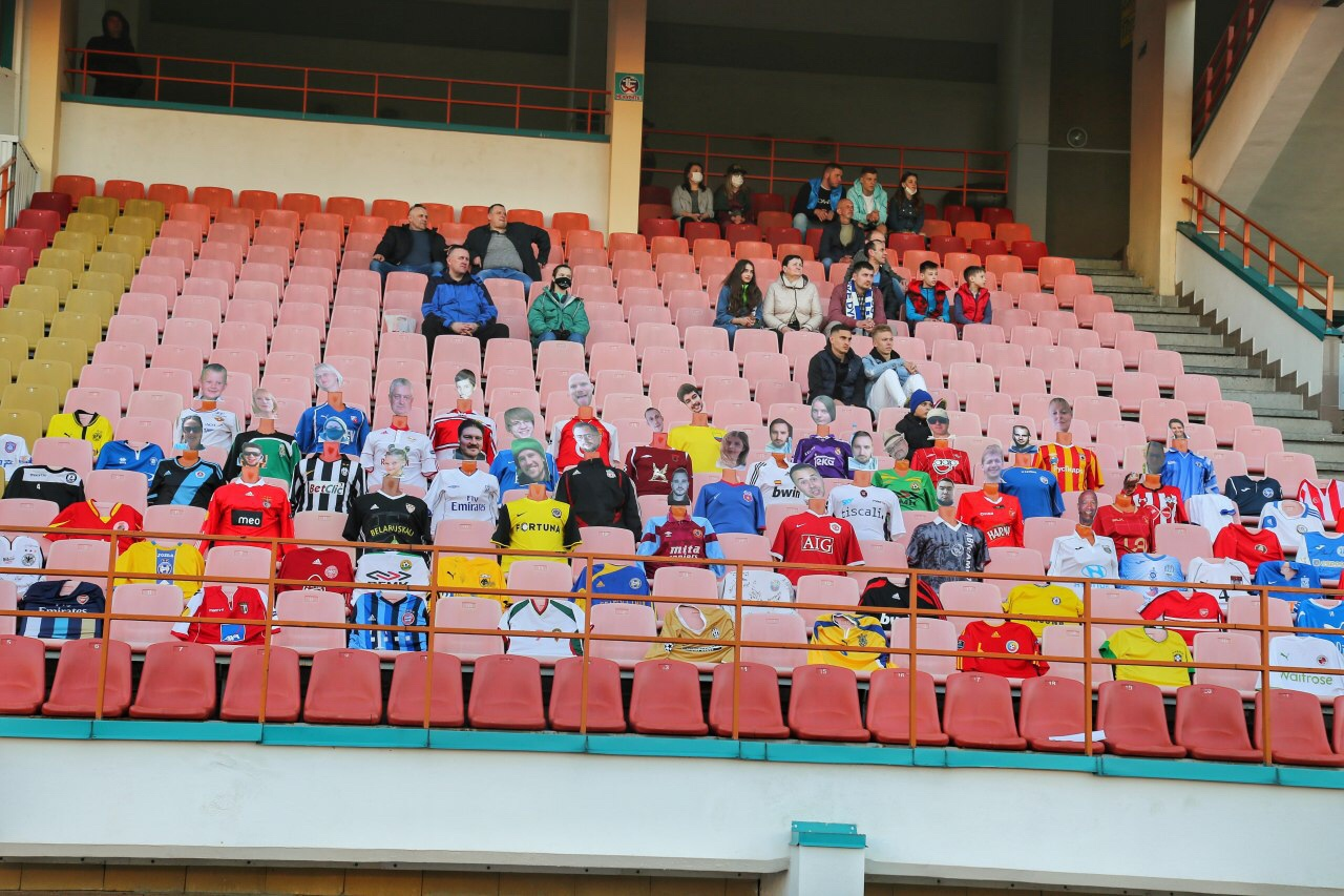 Belarusian soccer team replaces fans with mannequins amid coronavirus pandemic