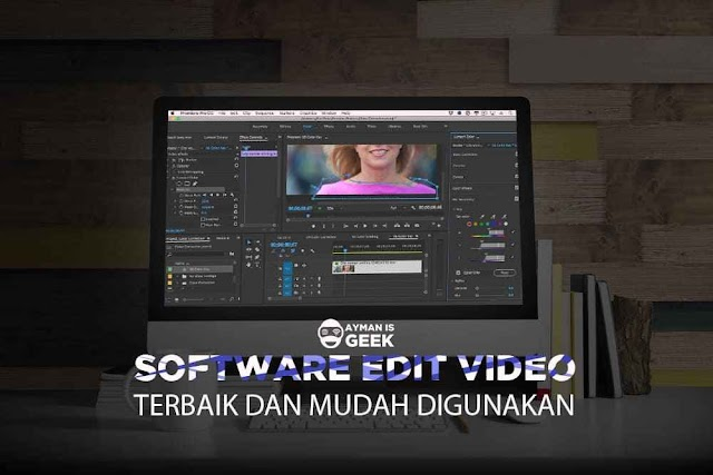 6 Software Editing Video Terbagus di PC atau laptop