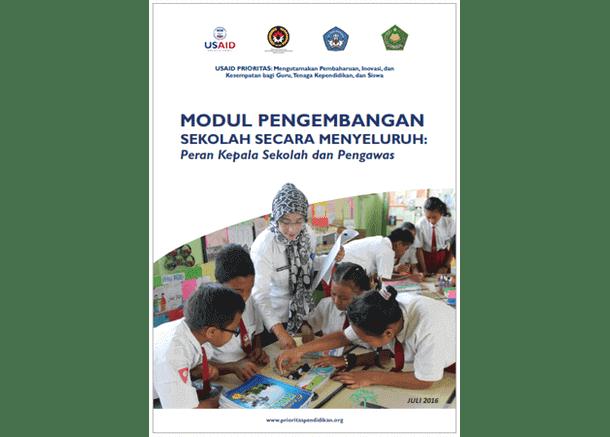 Modul Pengembangan Sekolah Secara Menyeluruh: Peran Kepala Sekolah dan Pengawas