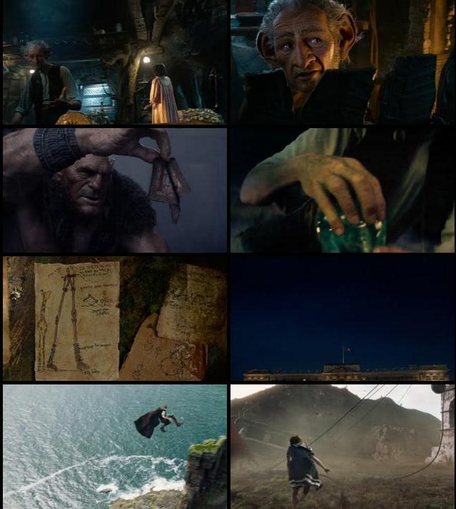 The BFG 2016 English 720p WEB-DL