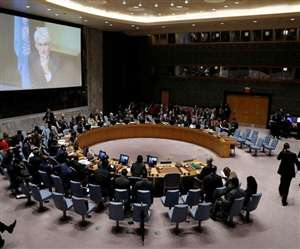 The US has convened an emergency meeting of the United Nations Security Council on recent air strikes in Gaza.