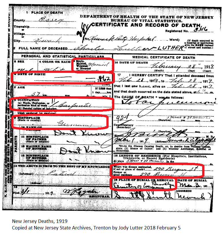 Family History Research by Jody: Finding the Death Record of Charles ...