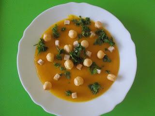 ZUPA KREM Z DYNI Z THERMOMIXA, zupa dla matek karmiących, zupa dla kobiet w ciąży, zupa dla dbających o zdrowie, zupa wegetariańska; Thermomix, przepis na thermomix
