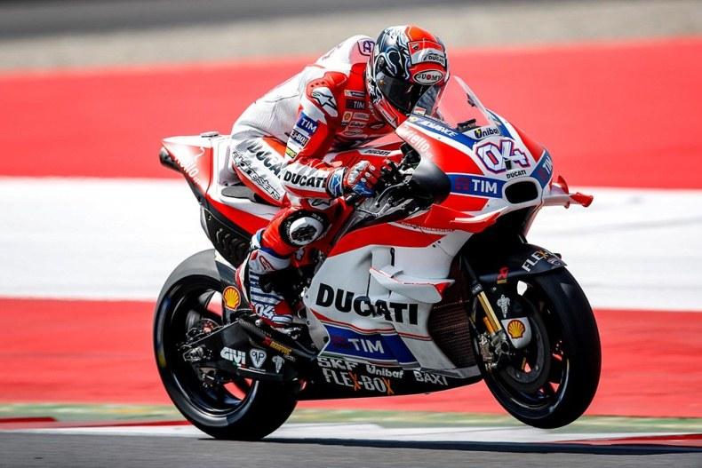 MotoGP 2016 : Ducati perkasa di Free Practice 2 Austria Red Bull Ring !