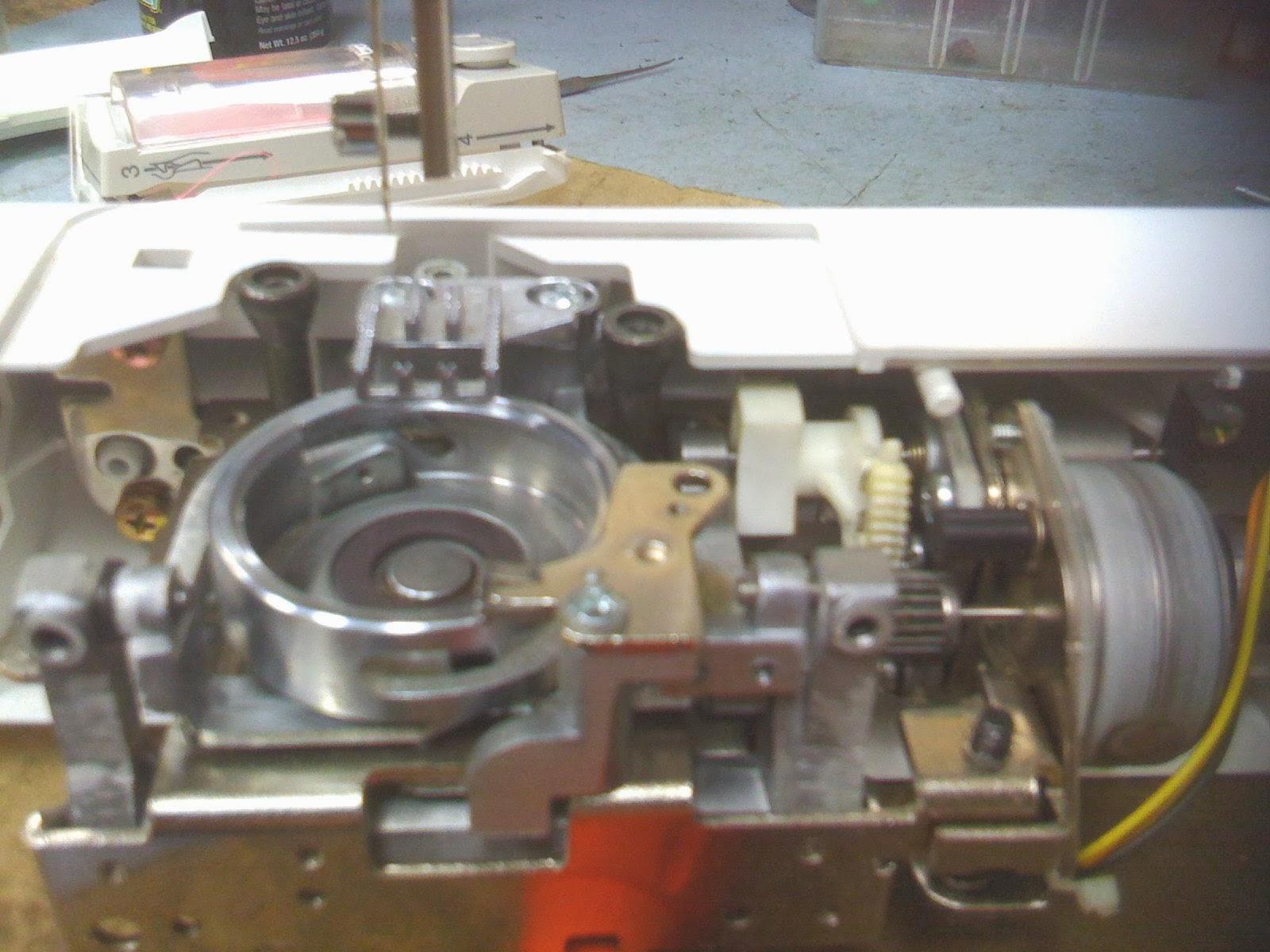 Sewing Machine Repair: Servicing a Brother CS80