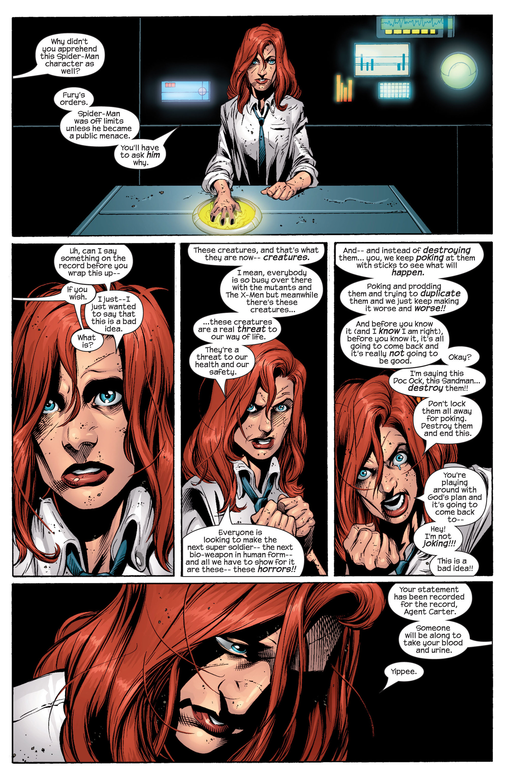 Read online Ultimate Spider-Man (2000) comic -  Issue #46 - 22