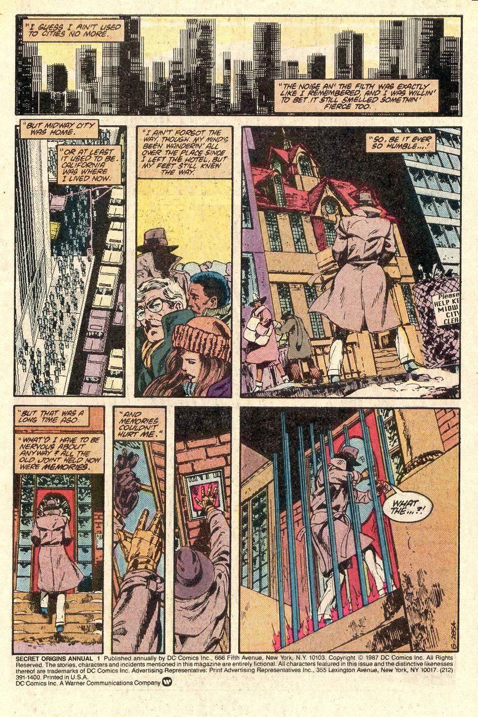 Secret Origins (1986) _Annual_1 Page 2
