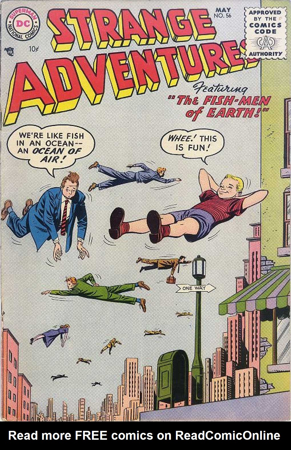 Strange Adventures (1950) issue 56 - Page 1