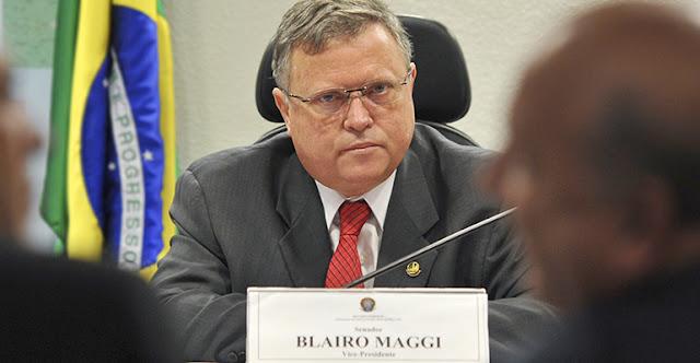 Blairo foi denunciado pelo ex-governador do Mato Grosso