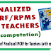 Compilation of Finalized IPCRF - RPMS for Teachers with complete 4 parts