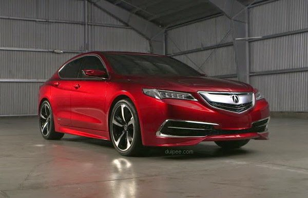 2015 Acura TLX Prototype - Athletic Red Pearl
