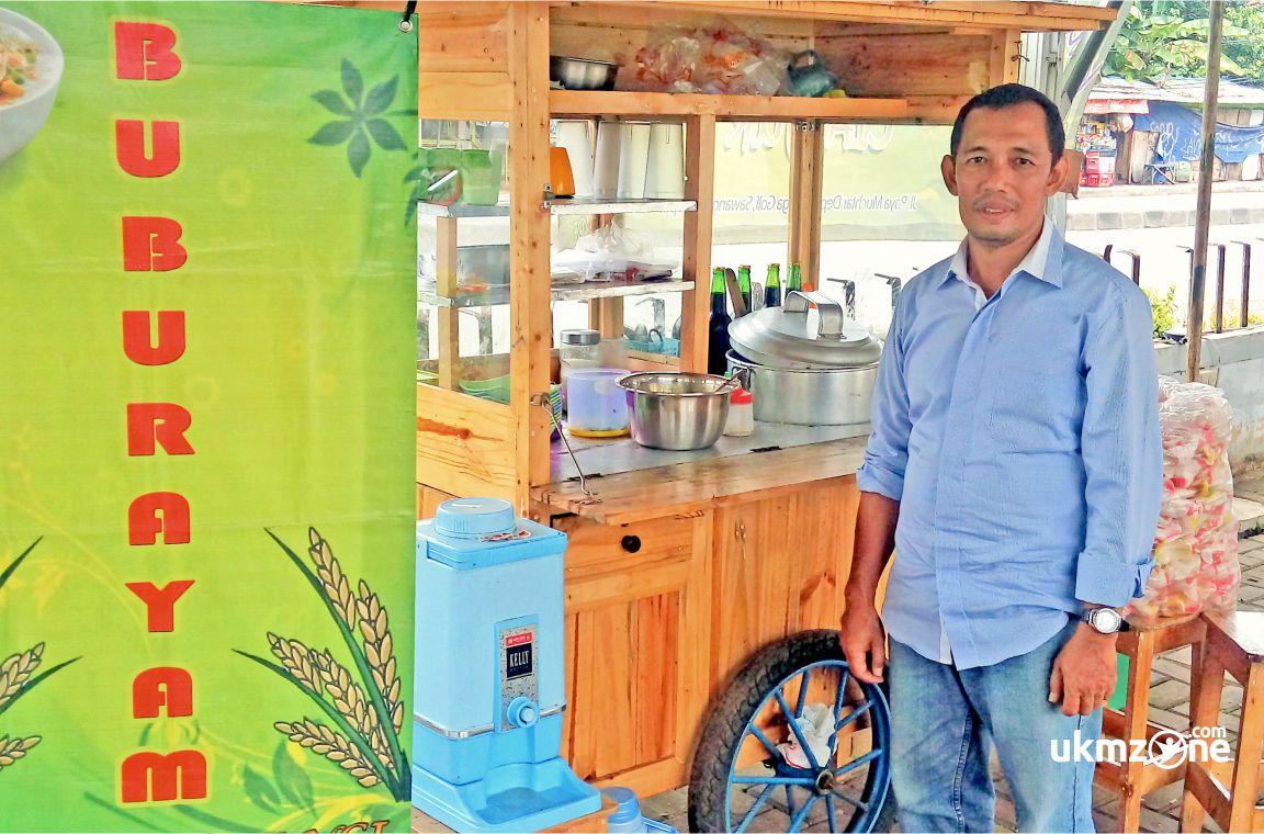 Dede Muslih Pengusaha Bubur Ayam Cianjur Di Depok | UKM Zone