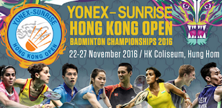 Yonex Sunrise Hong Kong Open Super Series 2016