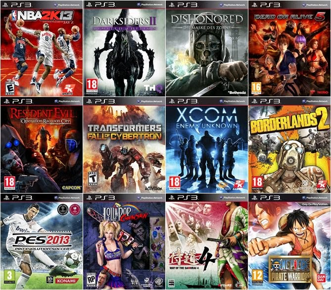 download all for ps3 games