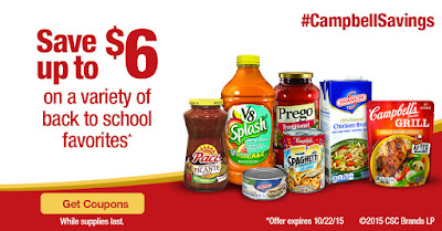 Campbell's Back-to-School Coupon Offer