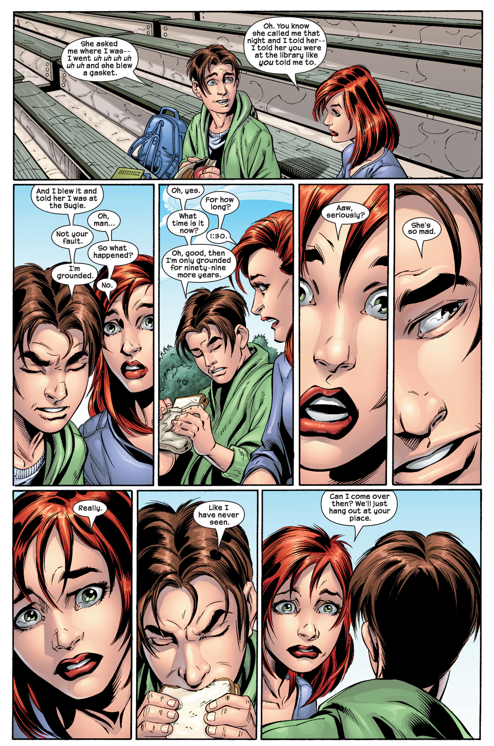 Read online Ultimate Spider-Man (2000) comic -  Issue #22 - 14