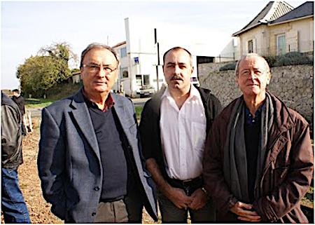 afaa36e65209 Photo d archives   à gauche de la photo Jean-Paul Geay, maire de Montils, a  rejoint la CDA de Saintes alors présidée par Jean Rouger (il est aux côtés  de ...