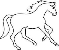 malvorlagen zum ausmalen: malvorlagen pferde zum ausmalen