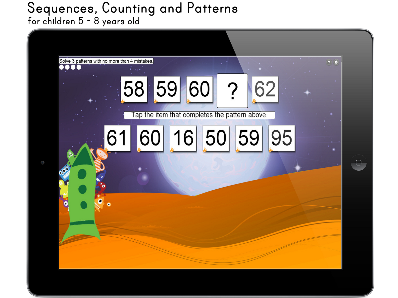 Corvid Apps Kids Sequences Counting And Patterns