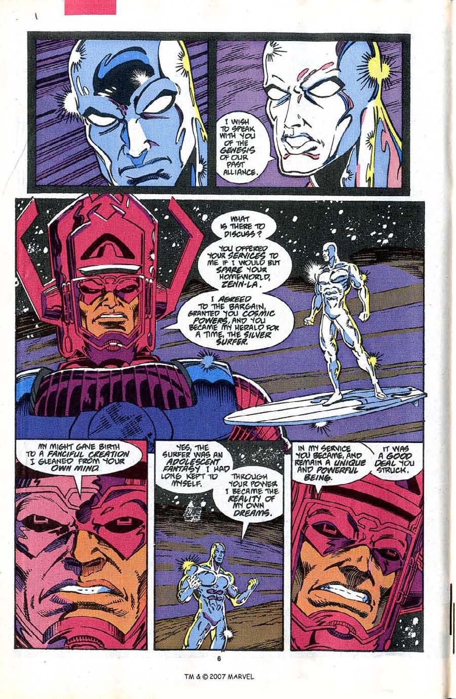 Read online Silver Surfer (1987) comic -  Issue #48 - 8
