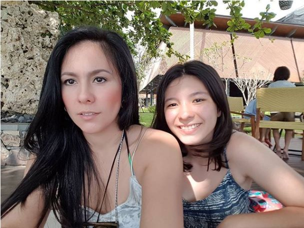 Photos of Wulan Guritno and Shaloom Razade Wear Bikini