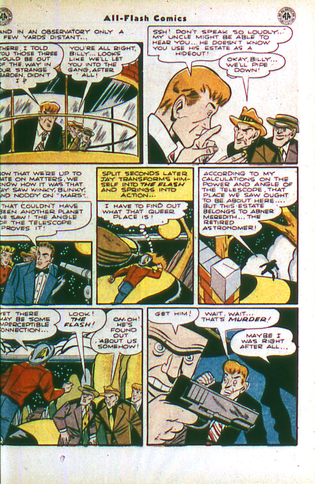 Read online All-Flash comic -  Issue #20 - 9