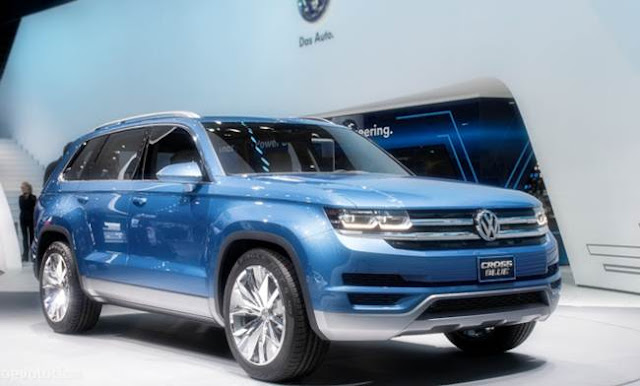 2017 VW CrossBlue Redesign, Specs