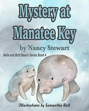 PUYB Book Blast: Mystery At Manatee Key by Nancy Stewart