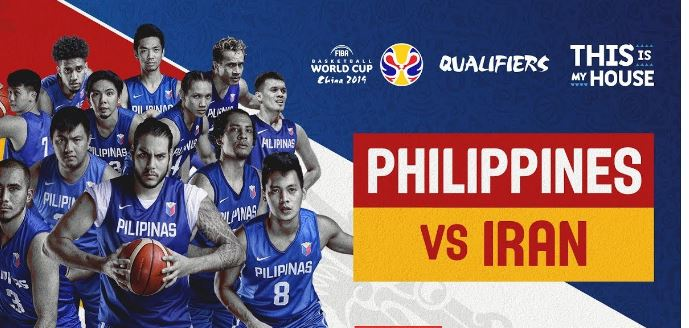 LIVE STREAM: Gilas Pilipinas vs Iran FIBA World Cup 2019 Asian Qualifiers