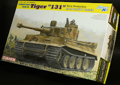 "Build:35th scale Tiger I ""131"" s.Pz.Abt.504 Tunisia from Dragon Models"