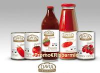 Logo Vinci gratis fornitura di prodotti Davia ''Le specialità''