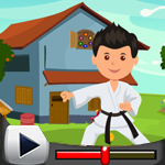 G4K Karate Man Rescue Gam…