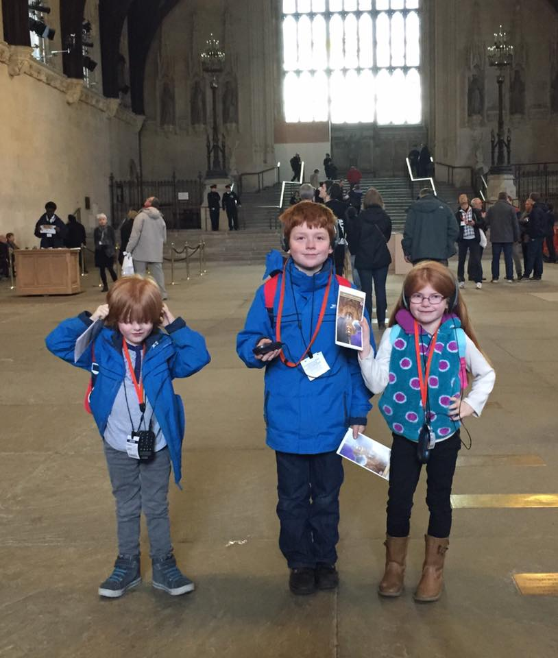 The Houses of Parliament Audio Tour for kids, A Review - children's audio tour in Westminster hall