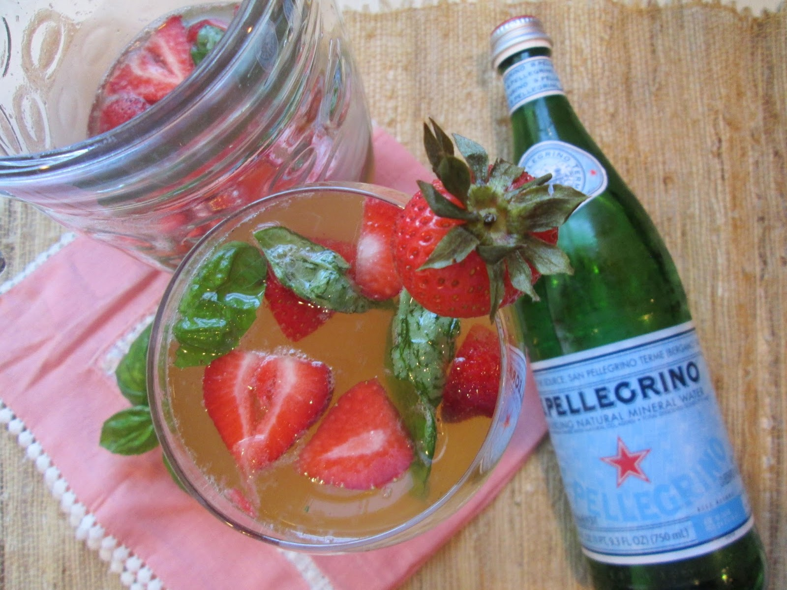 Stirring the Pot: Strawberry, Lemon, & Basil Mimosa