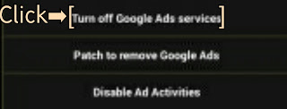 Turn Off Google Ads Service