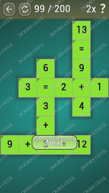 Math Games [Beginner] Level 99 answers, cheats, solution, walkthrough for android