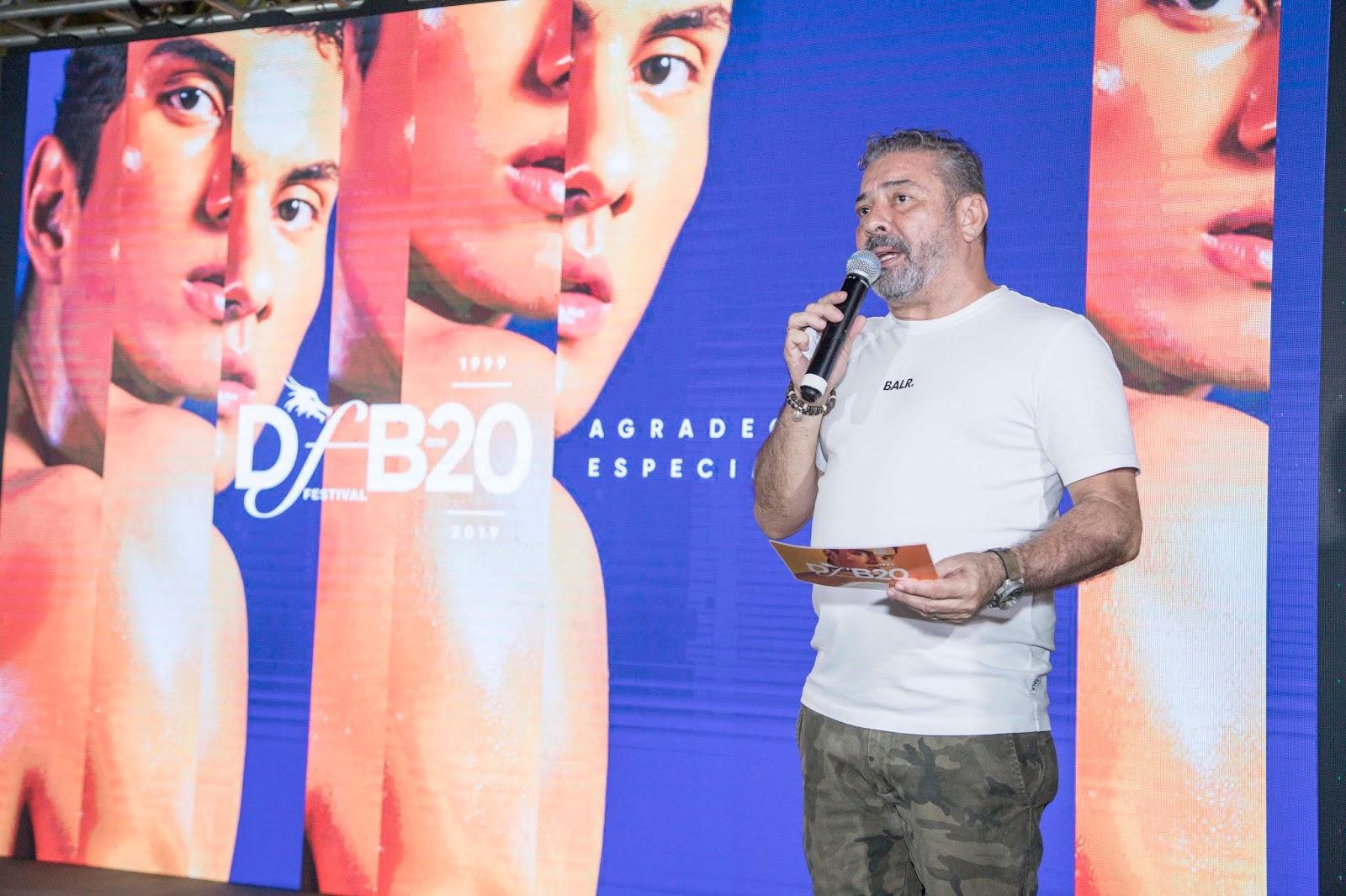 5c118e2ad A uma semana do maior evento de moda autoral da América Latina, o DFB  Festival 2019 recebeu nesta quarta-feira (8) convidados para o lançamento  da edição ...