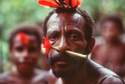 Vídeo da tribo indígena Papúa Nova Guiné