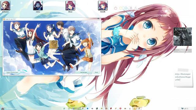 Nagi no Asukara Theme Win 7 by Andrea_37