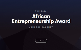 African Entrepreneurship Award by BMCE Bank of Africa - 2018