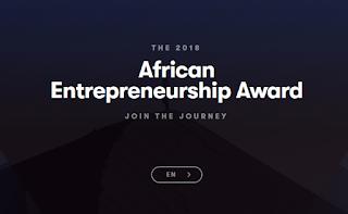 African Entrepreneurship Award by BMCE Bank of Africa - 2018