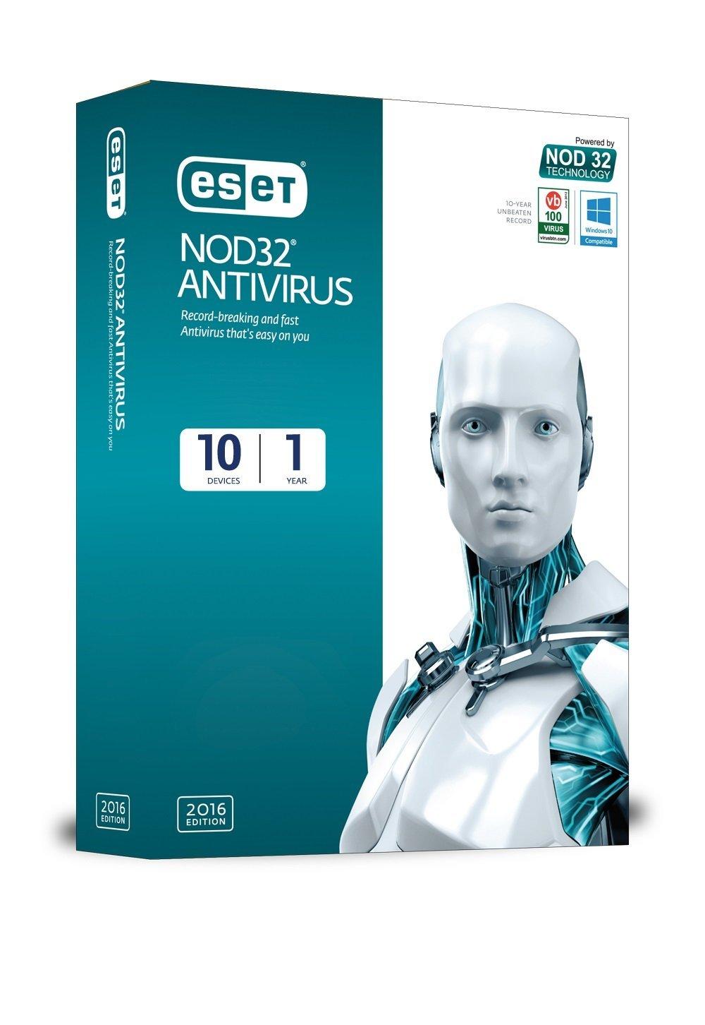 ESET NOD32 Antivirus 10 (valid till 2017) with working ...