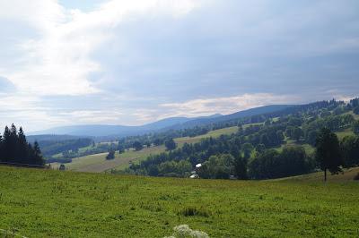 Przełęcz Rędzińska - piękne krajobrazy