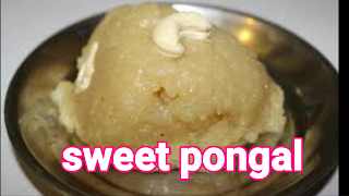 Image of serving sweet pongal